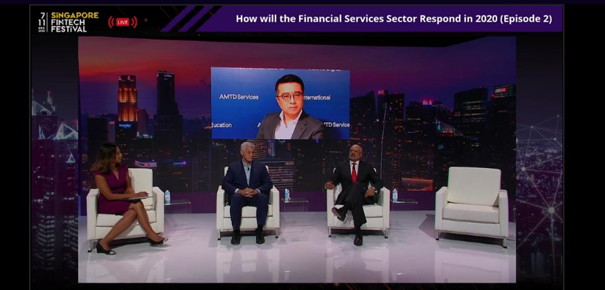 How Will the Financial Services Sector Respond in 2021 (Episode 2) with Bill Winters, Group Chief Executive, Standard Chartered PLC; Piyush GuptaChief Executive Officer, DBS Group; Calvin Choi, Chairman & Chief Executive Officer, AMTD Group; Haslinda Amin, Chief International Correspondent, Southeast Asia, Bloomberg Television