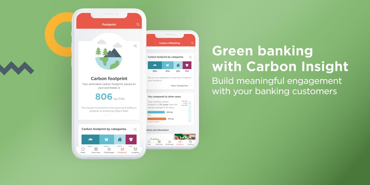 Carbon Insight empowers banking customers to track their carbon footprint and take action