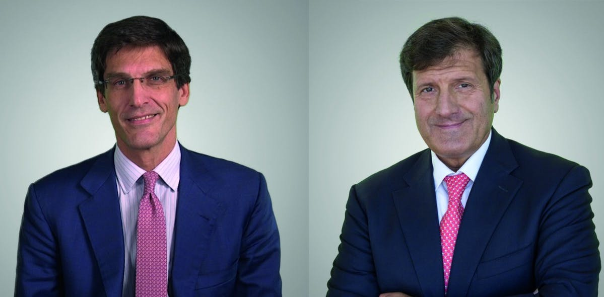 UniCredit's co-CEOs of commercial banking for Central and Eastern Europe, Gianfranco Bisagni and Niccolò Ubertalli