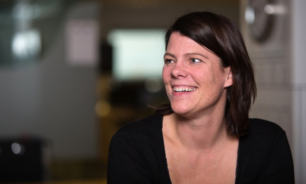 Alexandra Mahlmann, hugbúnaðarprófari Meniga