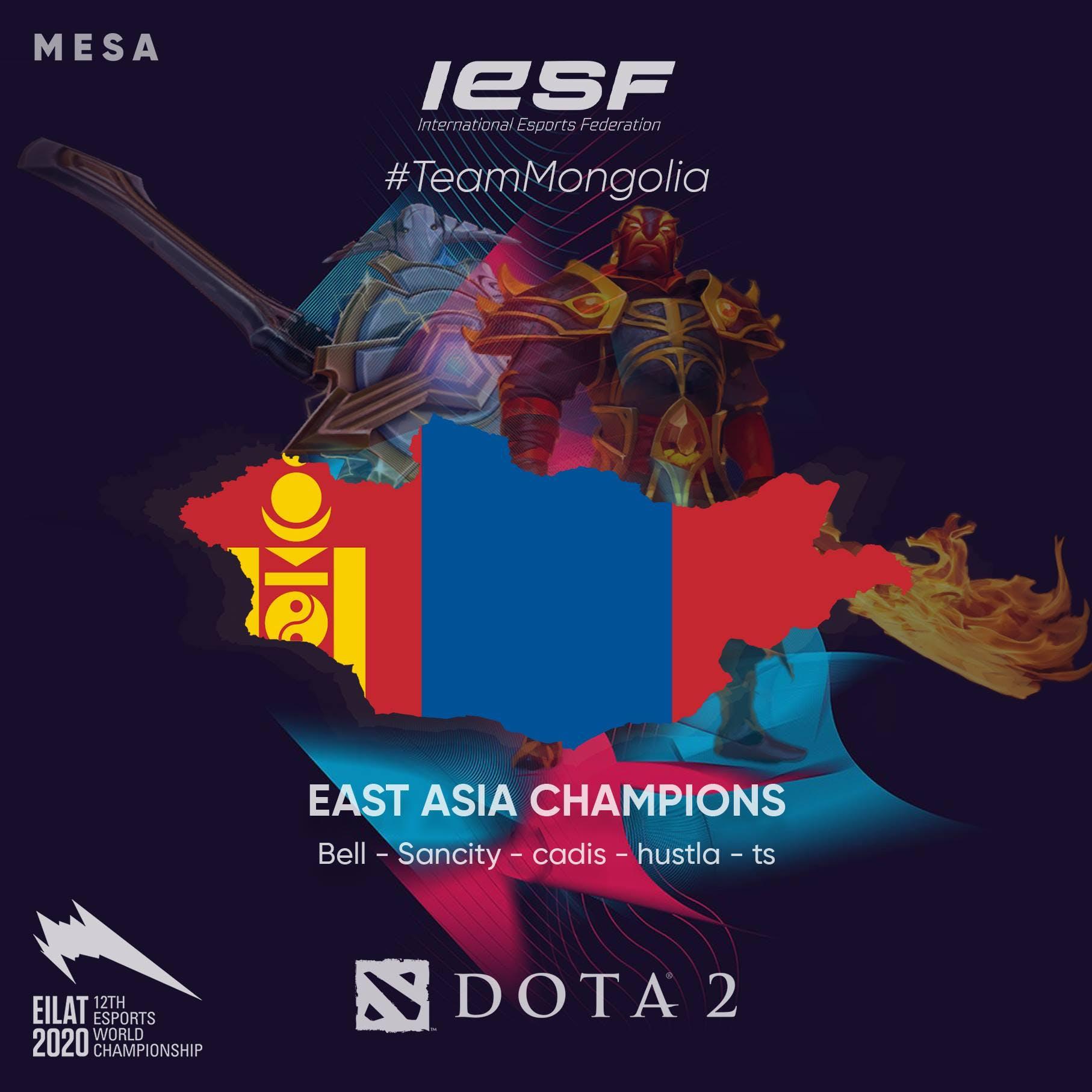 Монголын шигшээ баг зүүн азийн аварга боллоо