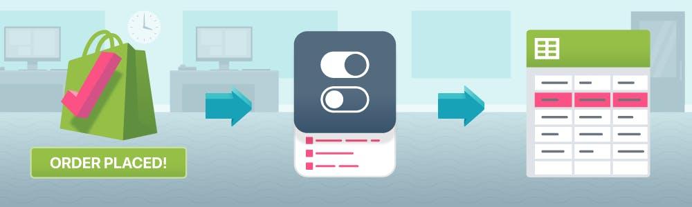 Add Infinite Options Line Items to Google Sheet