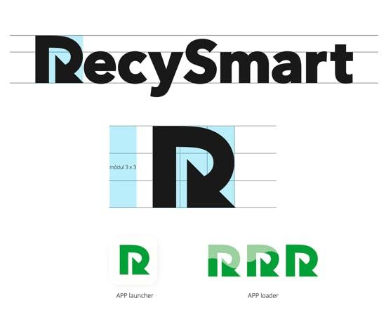 RecySmart logo design