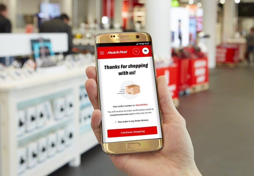 Checkout experience - Omnichannel from MediaMarkt by Metakitrina