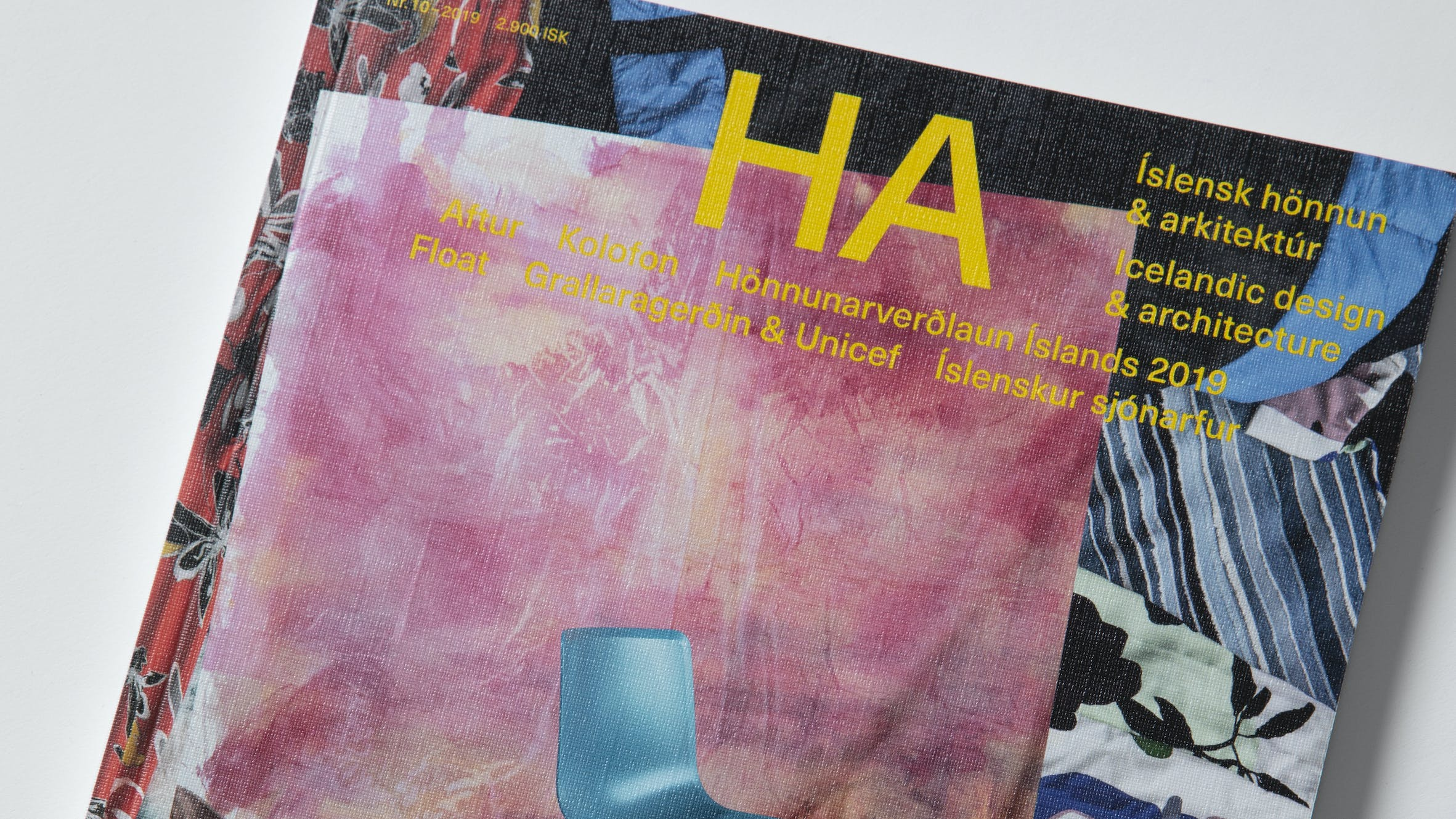 HA10 –Product picture of HA, Issue no. 10 published in November 2019.
