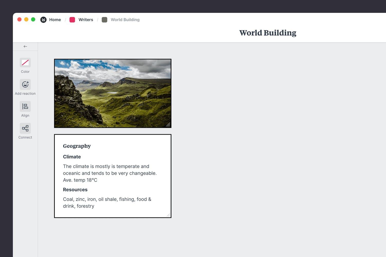 Worldbuilding for a novel
