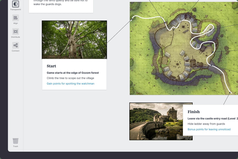 Game level design journey