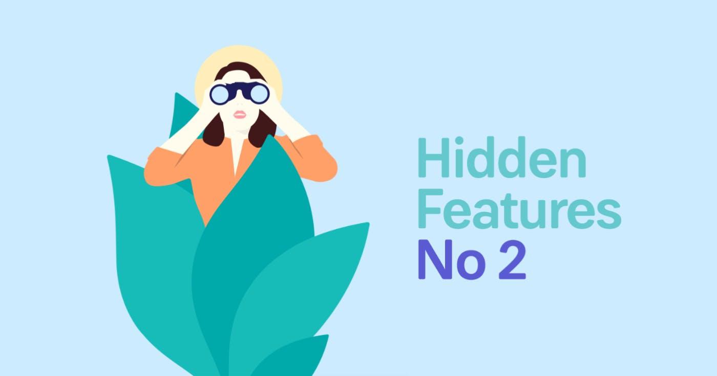 MindNode Hidden Features