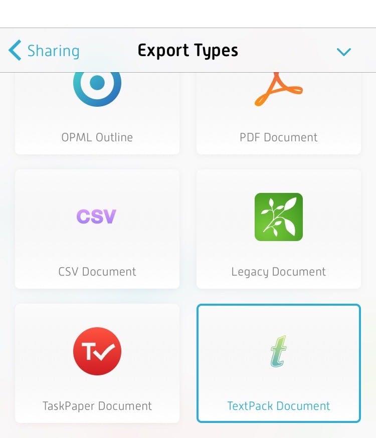 TextBundle iOS Export