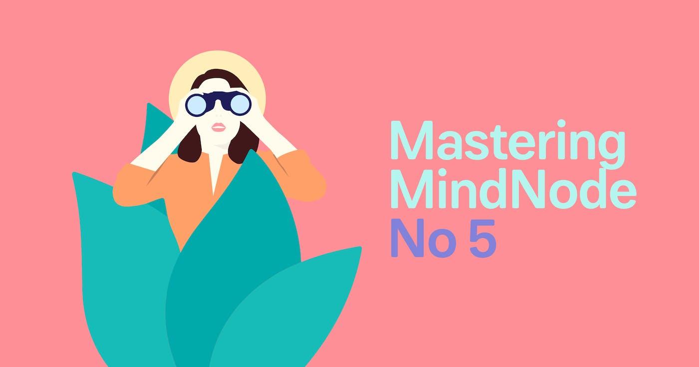 Mastering MindNode - iOS Gestures