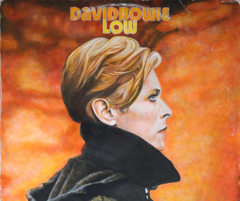 record (david bowie, low) by holly farrell (detail)