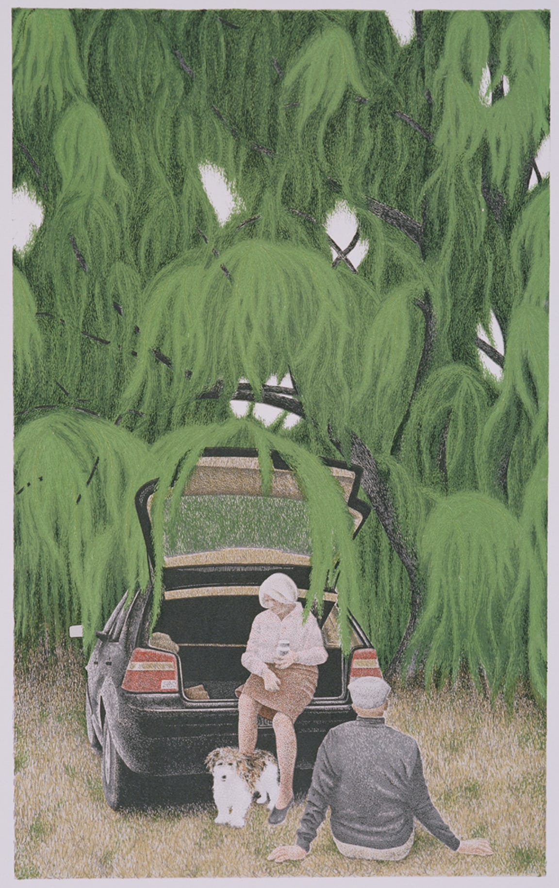 willow by alex colville