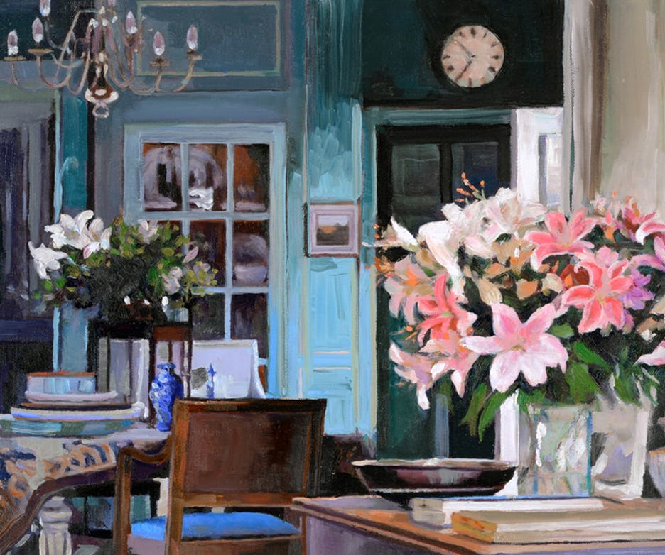 painting, interiors, landscape, artist, contemporary art, art, canadian artist, still life