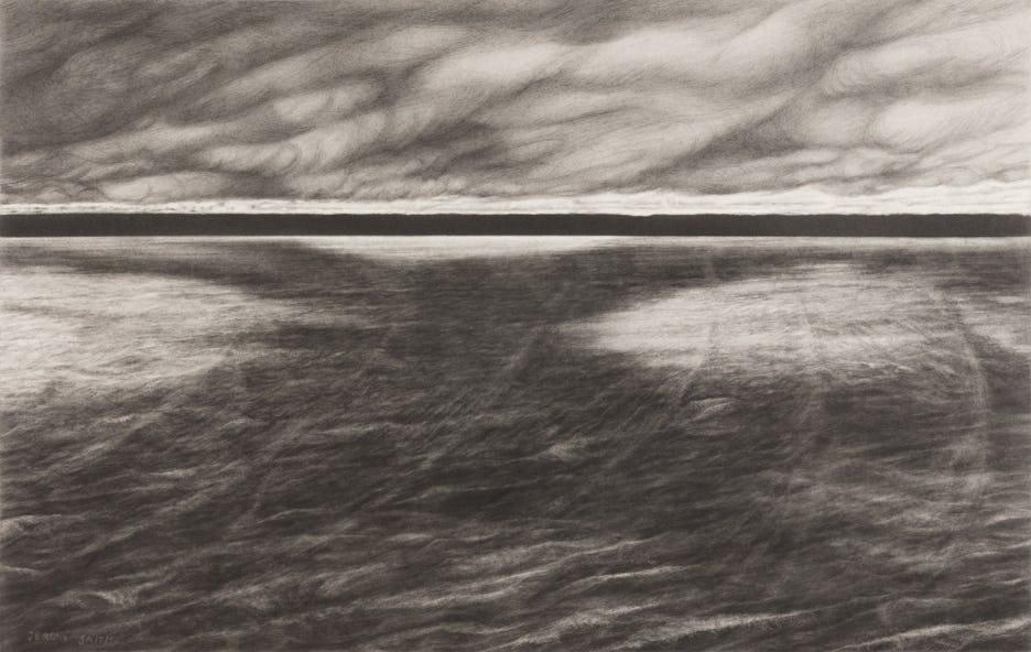 windy day, lake joseph by jeremy smith