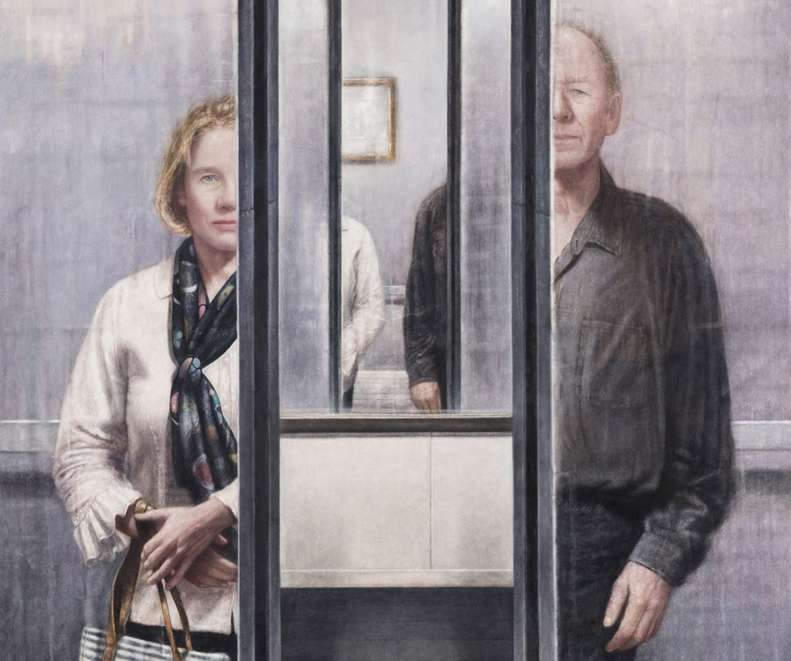detail of elevator 2019 by jeremy smith