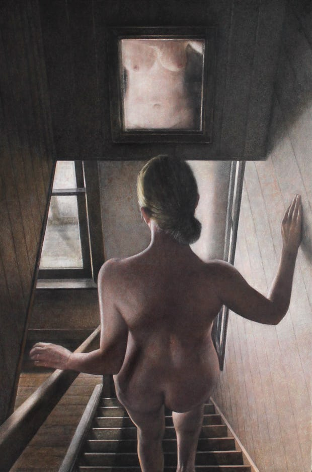 nude descending a staircase by jeremy smith