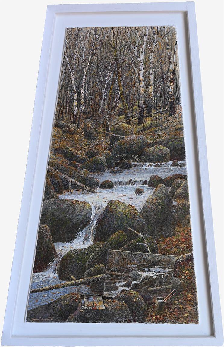bouldered brook by tom forrestall