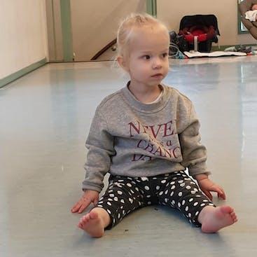 Peuter bij de ouder/peuterdans Balletstudio Mirjam Ouwerkerk