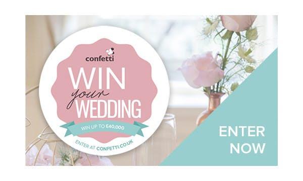 Win your wedding.