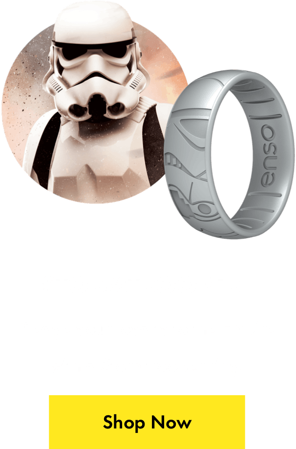 Stormtrooper ring. Pledge your loyalty to the empire with a Stormtrooper ring. Click here to shop now.