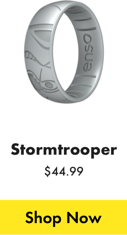 Stormtrooper ring. Click here to shop the Stormtrooper ring.