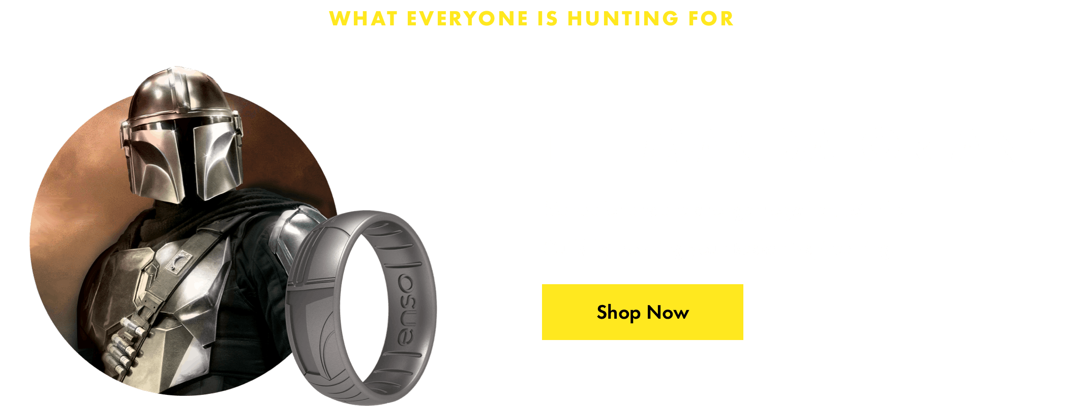 Mandalorian™ ring. Mandalorians are stronger together! Join the guild by donning your Beskar inspired ring. Click here to shop now.