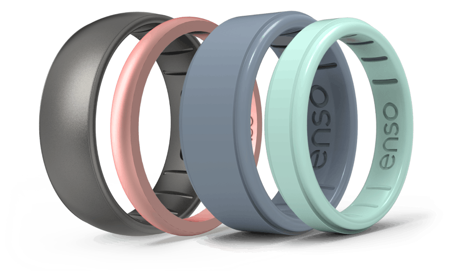 Enso's silicone rings are a safer and more comfortable alternative for medical professionals.