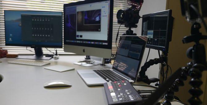 オンライン授業のために用意した配信機材