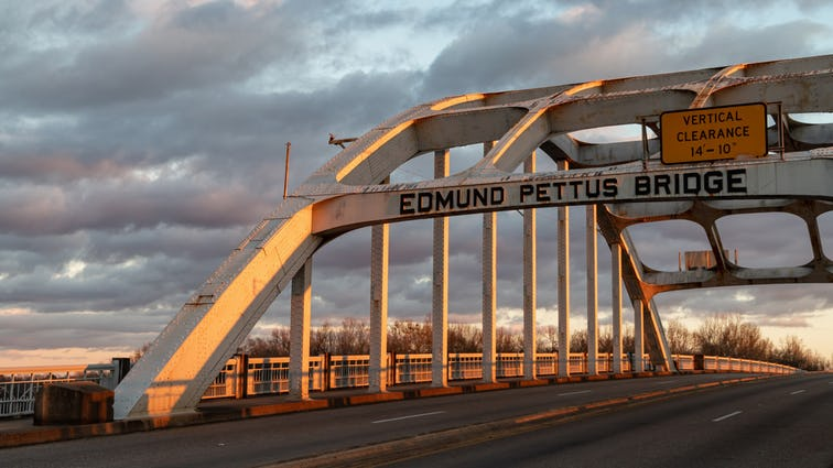 Edmund Pettus Bridge の写真