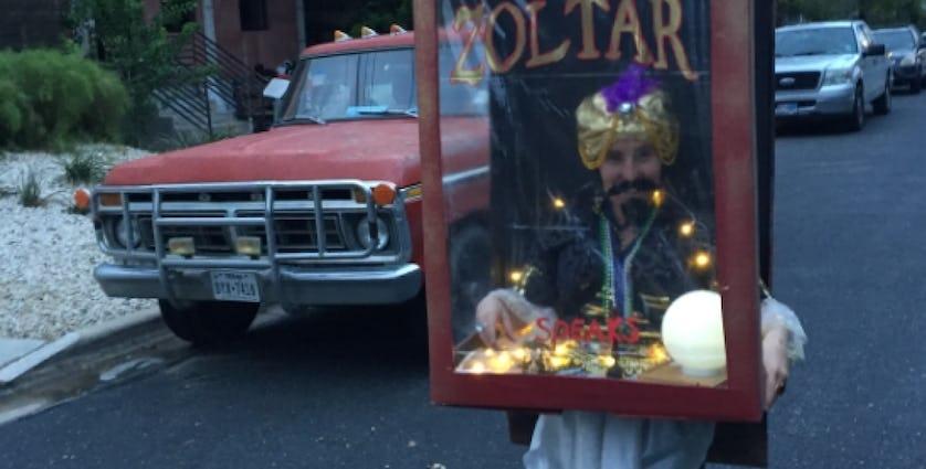 Lorrie Salome dressed as Zoltar
