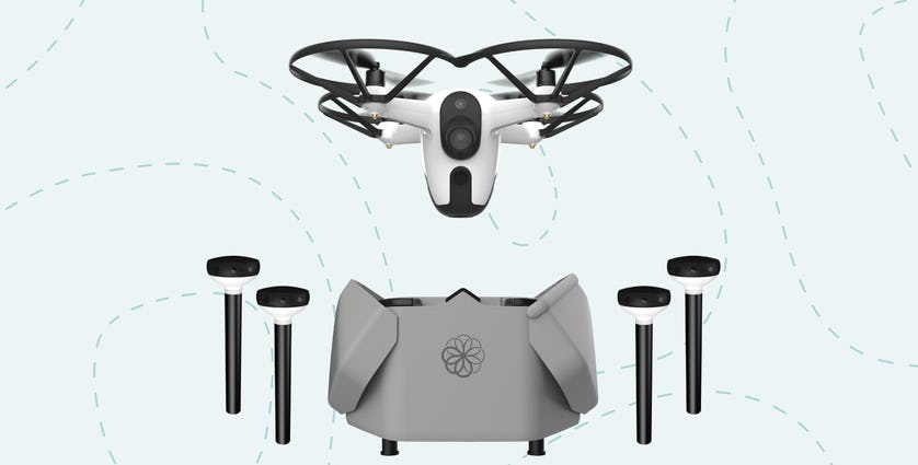 The Sunflower Labs security drone system