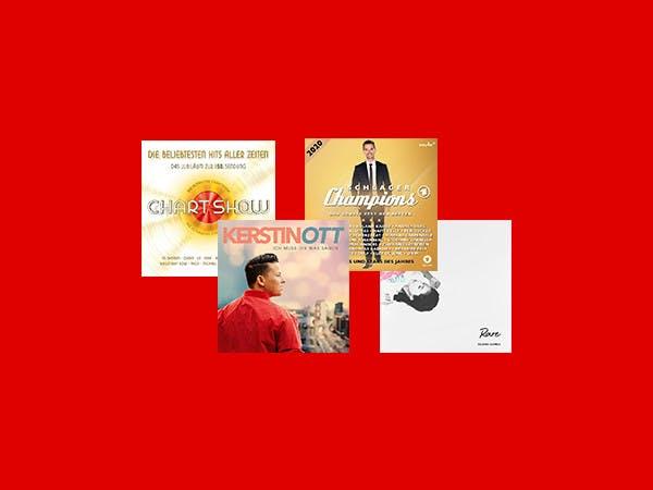 Die Alben des Monats.