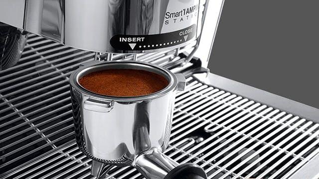 La Specialista – perfekt gemahlener und zubereiteter Kaffee.
