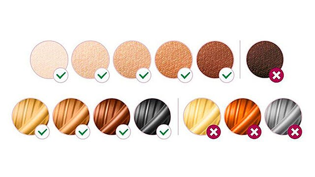 Philips Lumea BRI921 phù hợp với hầu hết mọi loại da và tóc.
