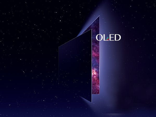 It's OLED, or OLED.