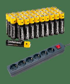 Akkus, Batterien & Steckdosenleisten