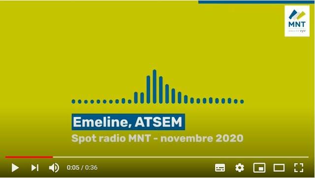 Spot radio MNT Emeline ATSEM novembre 2020
