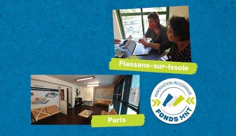 Fonds MNT laureats villes de Paris et Flassans sur Issole