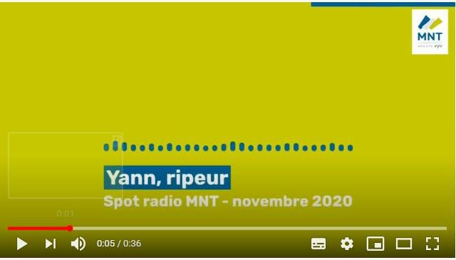 Spot radio Yann ripeur, novembre 2020