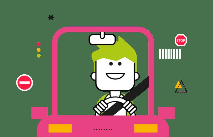 Illustration Chauffeur