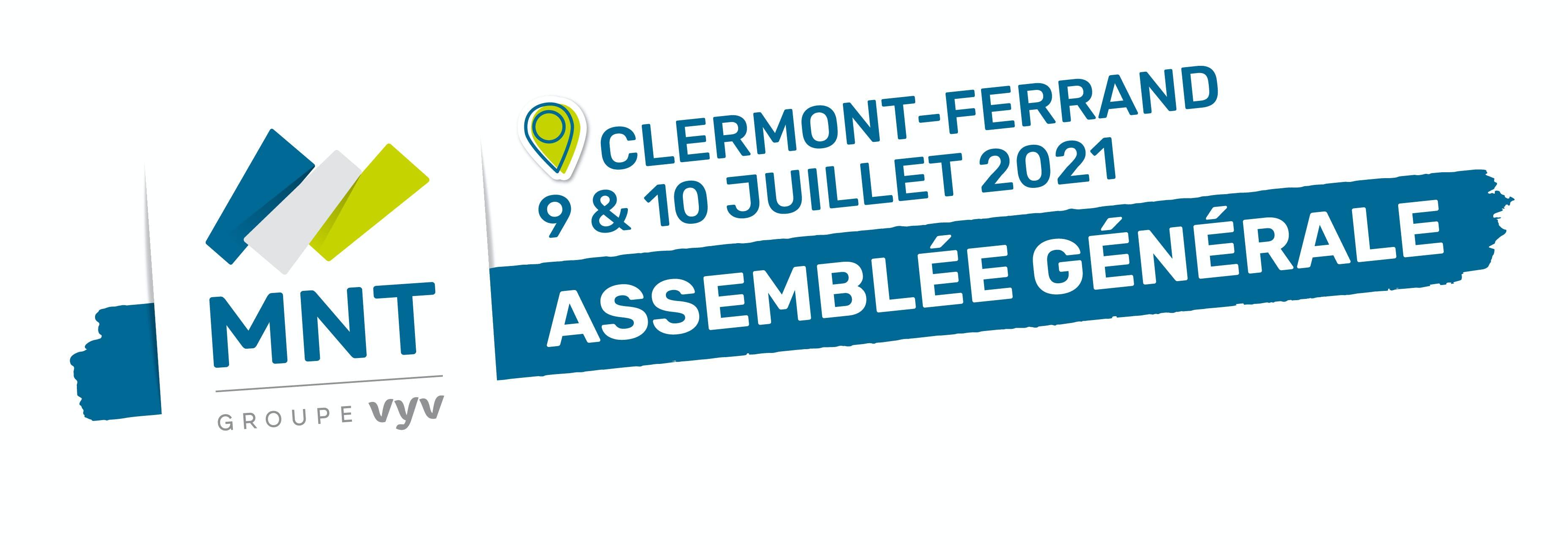 Logo AG MNT 2021 à Clermont-Ferrand