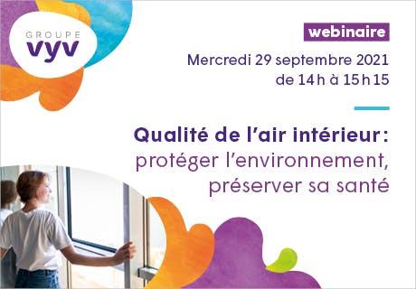 Webinaire qualité de l'air intérieur, 29 septembre 2021
