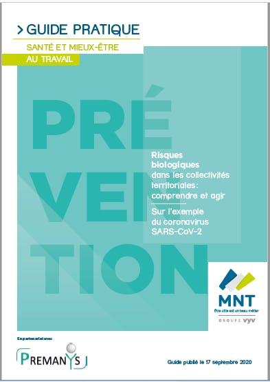 Guide pratique santé et mieux-être au travail MNT - risques biologiques