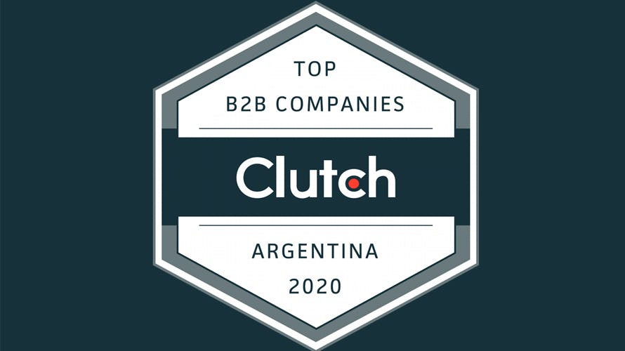 Badge for top B2B Company in Argentina