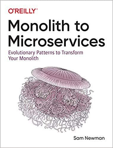 Cover of Monolith to Microservices