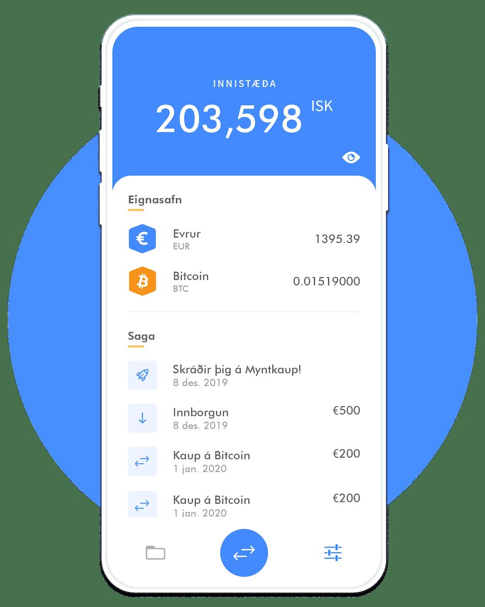 Myntkaup Mobile Application | Mojo Software