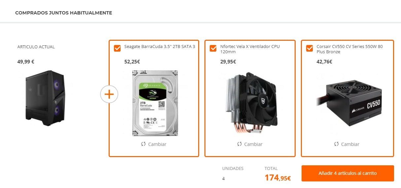 PC Components screenshot