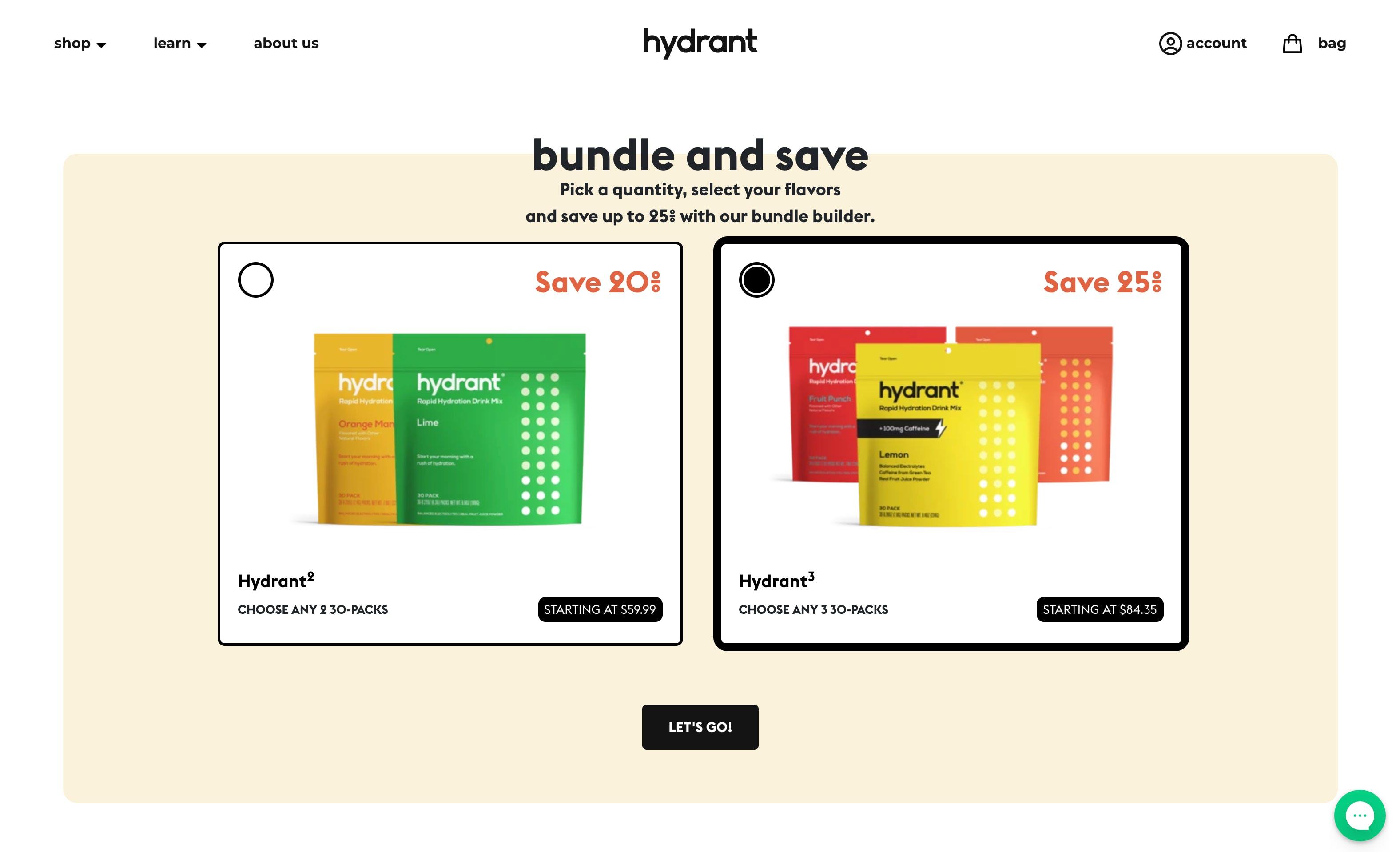 Hydrant bundles