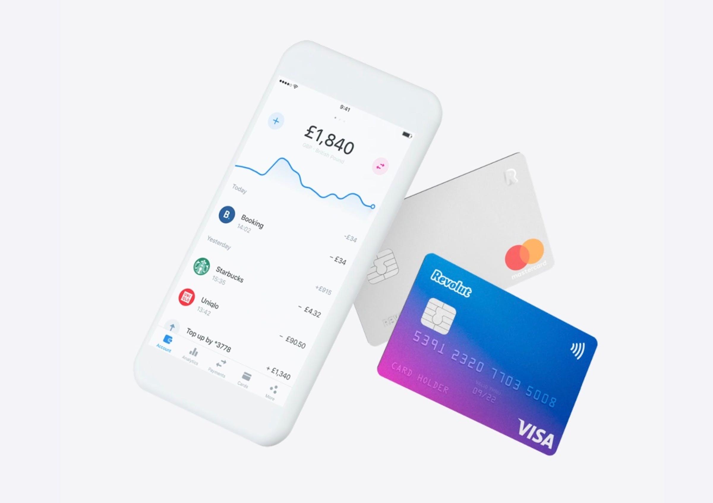 Avis sur l'application et la carte bancaire Revolut par Monito