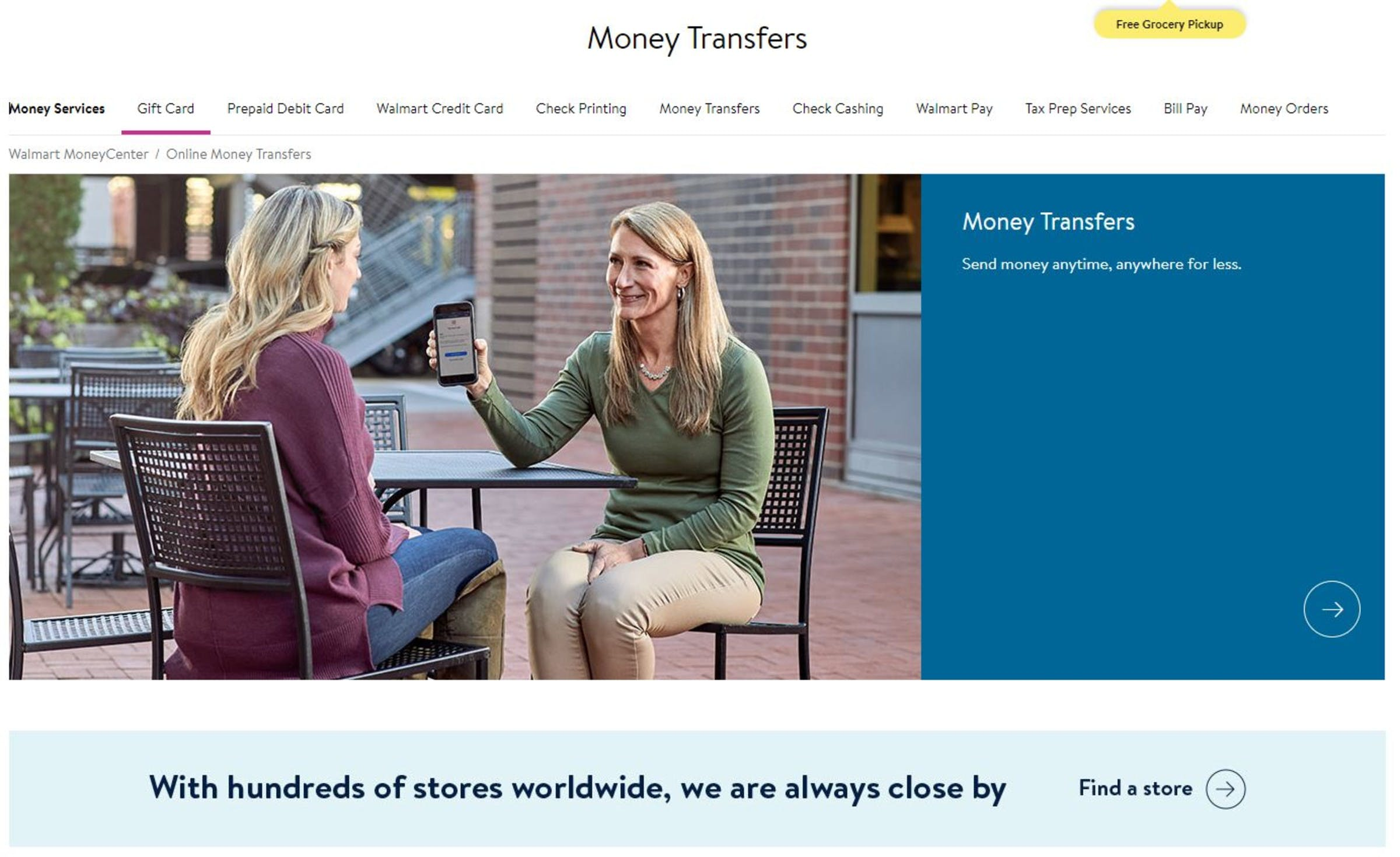 Walmart Money Transfer Review: exchange rates and fees, how it works & top  alternatives